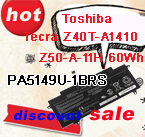 PA5149U-1BRS laptop battery for Toshiba Tecra Z40T-A1410 Z50-A-11H